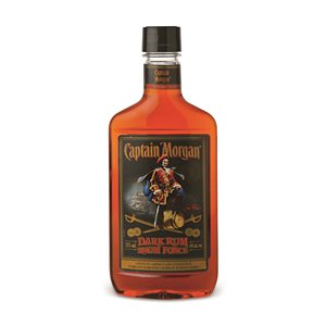 Captain Morgan Dark / Fonce 375ml