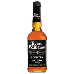 Evan Williams Black Label Bourbon 750ml