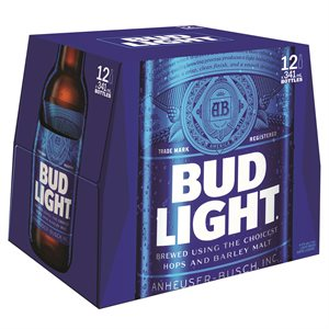 Bud Light 12 B