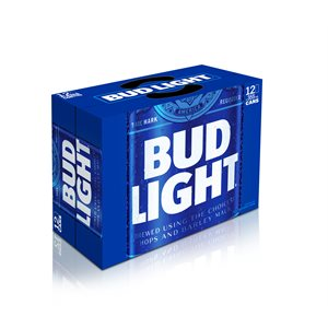 Bud Light 12 C