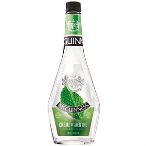 McGuinness Creme de Menthe White 750ml