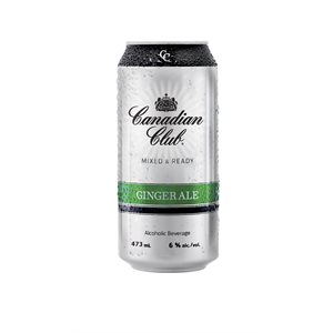 Canadian Club and Ginger 473ml