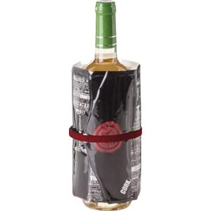 Bottle of Words Wine Cooling Sleeve