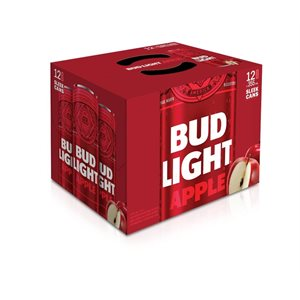 Bud Light Apple 12 C
