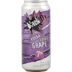 Black Fly Sour Grape 473ml