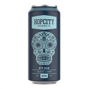 Hop City 8th Sin Black Lager 473ml