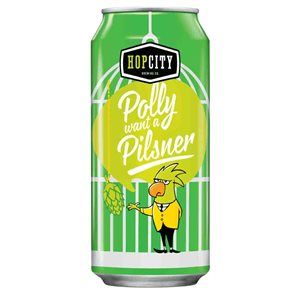 Hop City Polly Want a Pilsner 473 ml