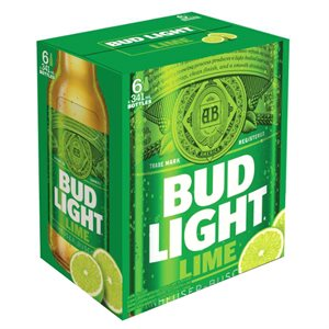 Bud Light Lime 6 B