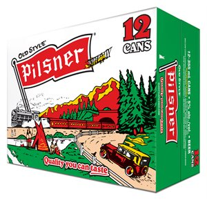 Molson Old Style Pilsner 12 C