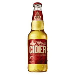 Molson Canadian Cider 341ml