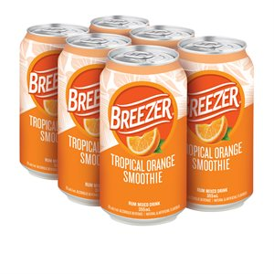 Breezer Tropical Orange Smoothie 6 C