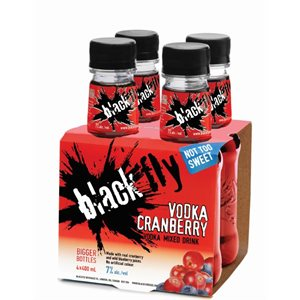 Black Fly Cranberry 4 B