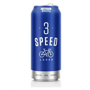 Amsterdam 3 Speed Lager 473ml
