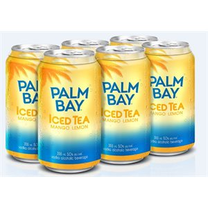 Palm Bay Tropical Iced Tea Mango Lemon 6 C
