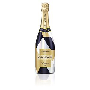 Chandon Brut Holiday Sleeve 750ml