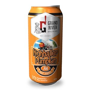 Grand River Highballer Pumpkin Ale 473ml