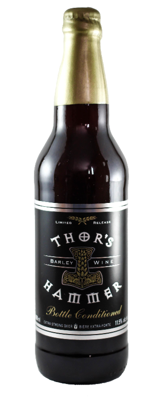 Central City Bottle Conditioned Thor's Hammer Barleywine 650ml