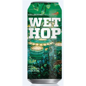 Collective Arts Wet Hop Wheat Ale 473ml