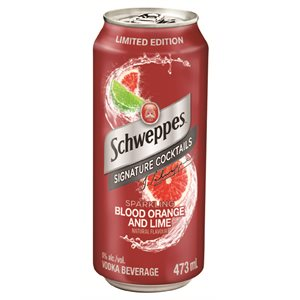 Schweppes Blood Orange and Lime Cocktail 473ml