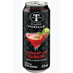 Mr and Mrs T's Strawberry Lime Daiquiri 473ml