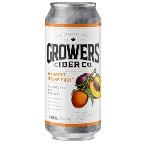 Growers Harvest Stone Fruit Flavoured Cider 473ml