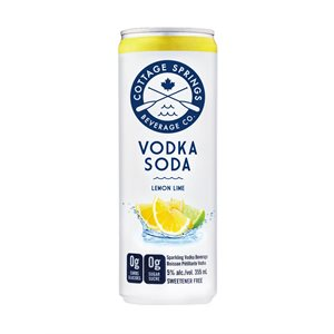 Cottage Springs Lemon Lime 355ml