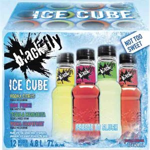 Black Fly Ice Cube Mixer Pack 12 B