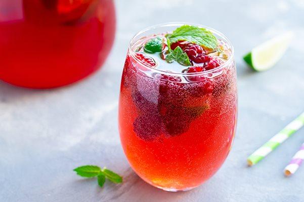 Berry Cider Sparkler